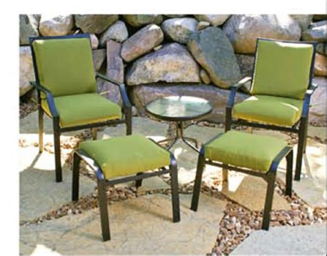 Outdoor Chair Pads, Ottoman Cushion, Chair Seat Pads