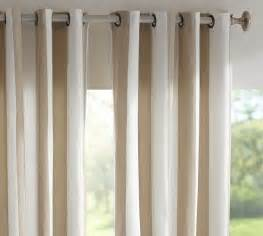 indoor awning curtains sunbrella 174 indoor outdoor grommet drape pottery barn