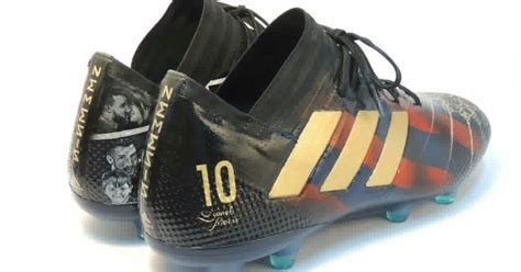 imagenes de zapatos adidas copa mundial photo lionel messi gets spectacular hand painted boots