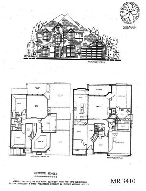 best of sumeer custom homes floor plans new home plans
