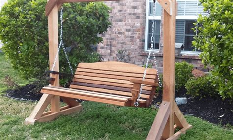porch swing glider plans how to build small wooden porch swing glider frame