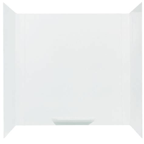 adhesive bathtub walls mustee durawall 30 in x 60 in x 58 in 3 piece easy up