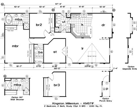 golden west homes floor plans golden west kingston millennium floor plans 5starhomes