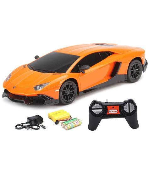 Rc Mobil Lamborghini Aventador Skala 124 Orange flipzon rc lamborghini aventador lp720 4 1 24 rechargeable car orange buy flipzon rc