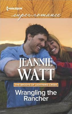 wrangling his books wrangling the rancher by jeannie watt fictiondb
