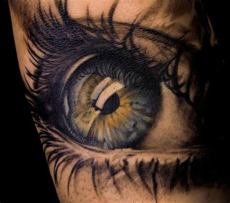 tattoo eyeball blue blue and green eye tattoo tattoomagz