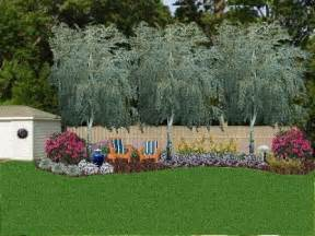 corner lot landscaping ideas for privacy home design ideas