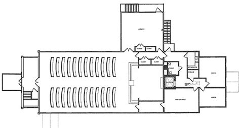 church designs and floor plans