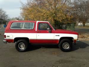 purchase used 1987 chevy k5 blazer 1 owner rust free in
