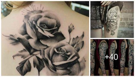 imagenes a blanco y negro significado hermosos tatuajes de rosas en blanco y negro tatuajes