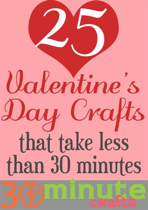30 minute craft projects 25 s day crafts 30 minute crafts