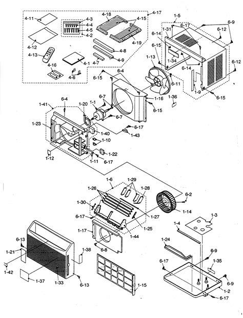 sharp air conditioner parts model aferl sears