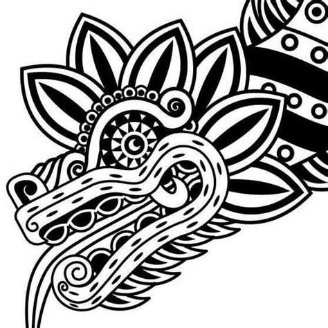 tribal quetzal tattoo quetzalcoatl tribal