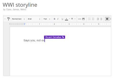 Learning Blog Docs Story Builder