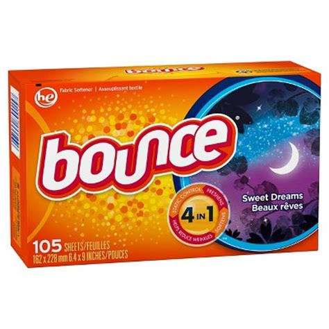 bounce dryer sheets bounce sweet dreams fabric softener dryer sheets 105 ct target