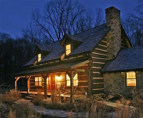 craftsman cabin history repeats craftsman style log home in pennsylvania log home living