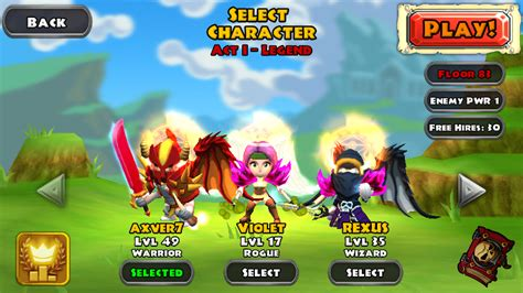 game rpg mod keren dunia komputer dan android dungeon quest game rpg android