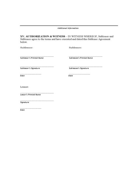 printable lease agreement rhode island rhode island sublease agreement free download