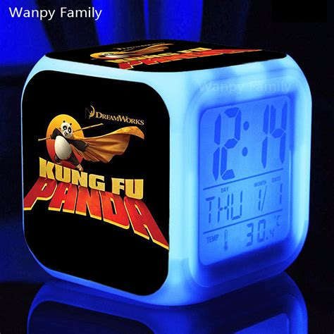 Alarm Fu popular panda alarm clock buy cheap panda alarm clock lots from china panda alarm clock