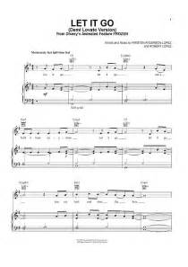 Let it go quot from frozen sheet music www onlinesheetmusiccommovies