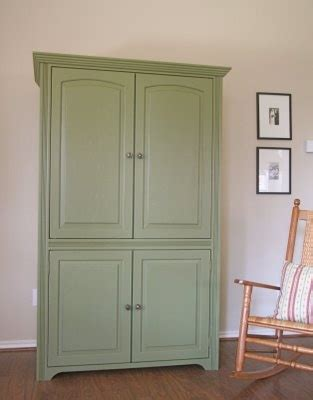 painted computer armoire green armoire lk pinterest armoires computer