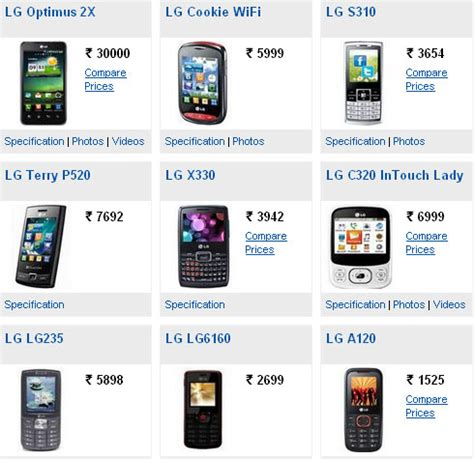 lg mobile phone price lg mobile phones price list with pictures find