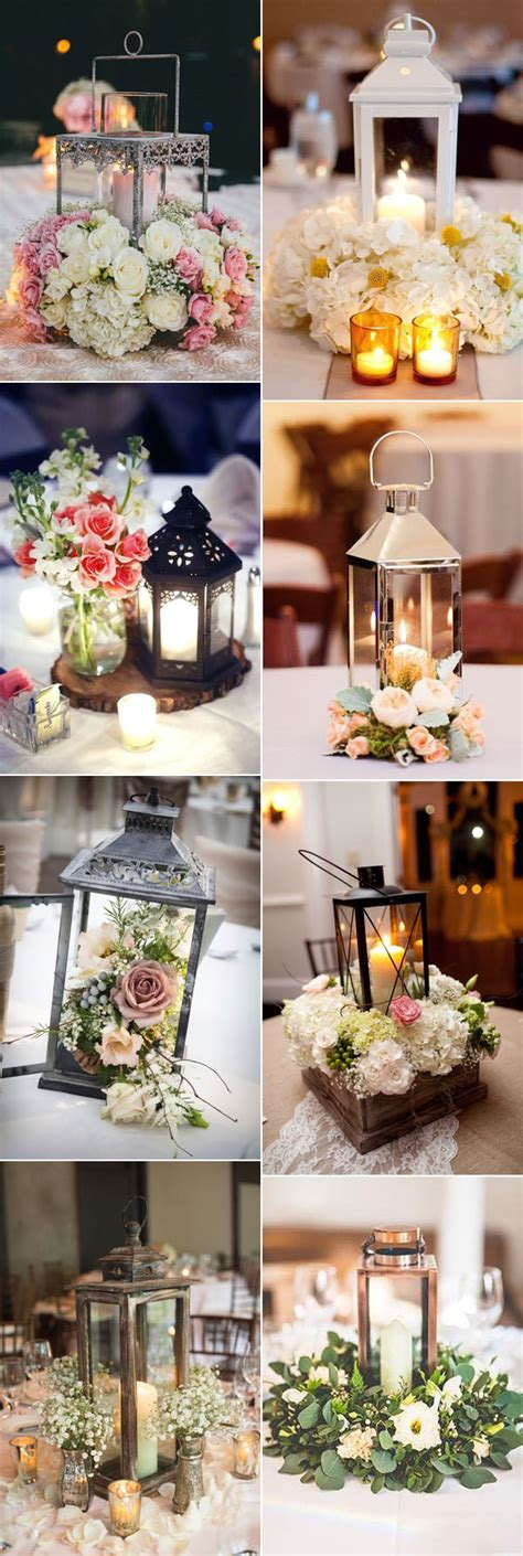 lantern floral centerpieces 32 stunning wedding centerpieces ideas