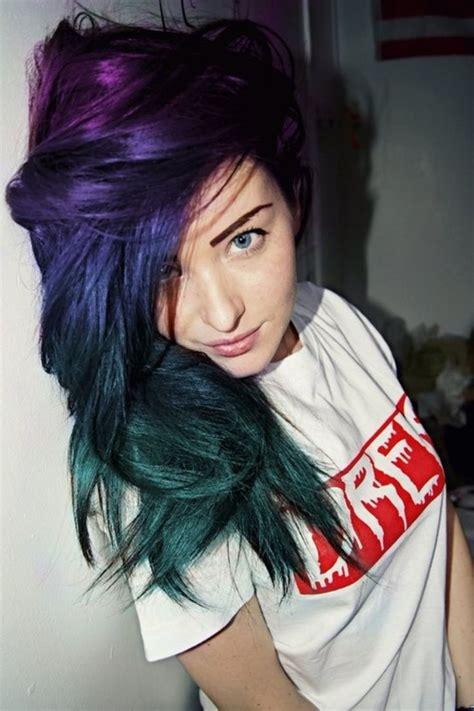 multi color hairstyles multi colored hairstyles fade haircut