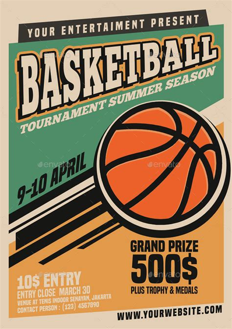 36 Basketball Flyer Psd Templates Free Premium Designyep Basketball Tournament Flyer Template