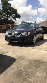 used black volkswagen eos 2007 with 120398 miles for sale