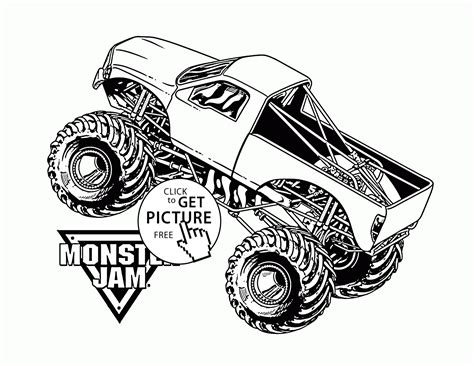monster truck jam videos for kids 95 monster jam truck coloring pages printable kids