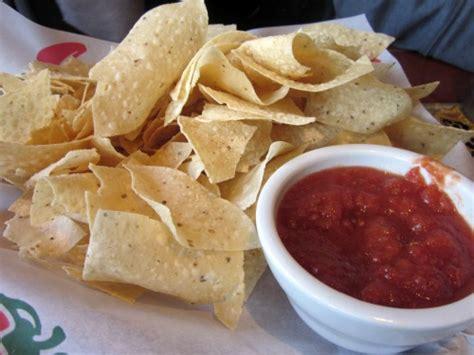 chilis  chips salsa   alcoholic drink   visit