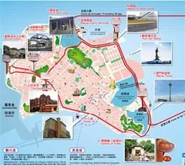 tourist attractions map hong kong map hong kong tourist map hong kong macau map