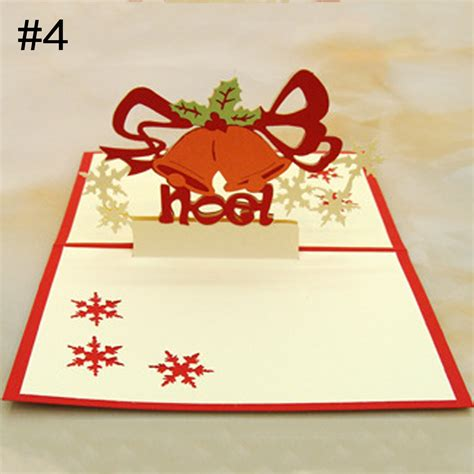 Handmade 3d Cards - multi style greeting cards 3d pop up handmade merry