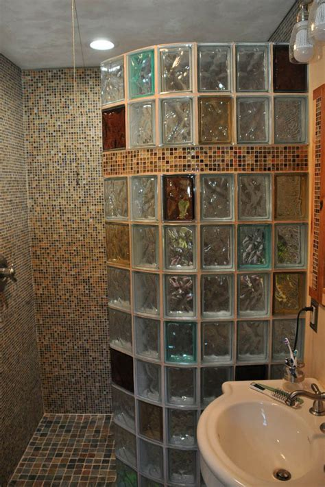 Bathroom Shower Wall Options Best 25 Glass Block Shower Ideas On Bathroom Shower Designs Glass Blocks Wall And