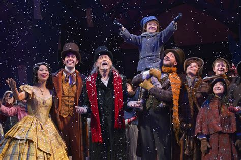 a christmas carol cheers and inspires at the act stark