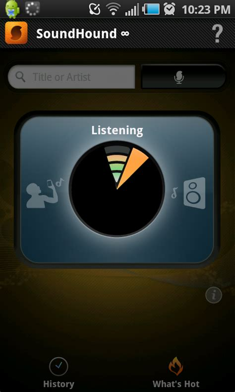 soundhound android soundhound for android review technologyguide