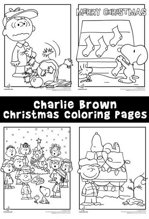 merry christmas charlie brown coloring pages a charlie brown christmas coloring pages woo jr kids
