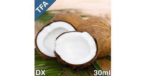 Tfa Coconut 30ml dx coconut flavor concentrate by tfa 1oz wizard labs