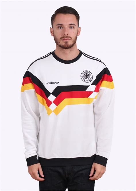 adidas originals og dfb beckenbauer germany crew sweater white