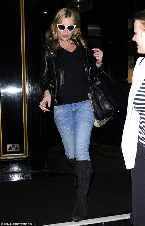 Make Like Kate Moss With A Paparazzi Playset by Supermodel Kate Moss Steps Out In A Stylish Pair Of