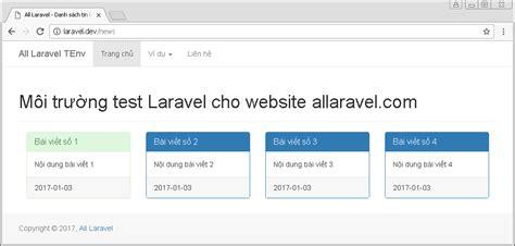 tutorial laravel bootstrap t 237 ch hợp bootstrap v 224 o laravel kiến thức t 224 i nguy 234 n