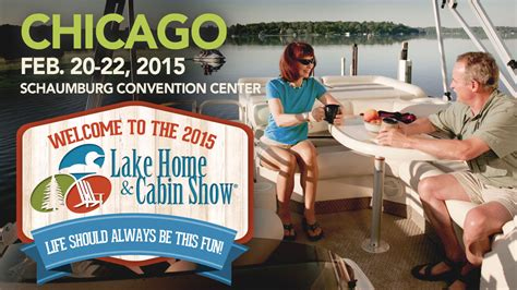 chicago features lake home cabin show official site logs end at chicago lake home cabin show logs end