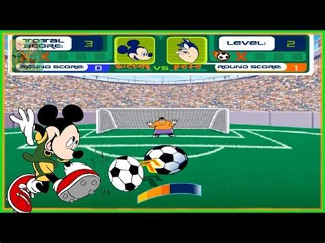 Pevi Set 1 mickey s football fever penaltis mickey vs bafo disney jr jogos