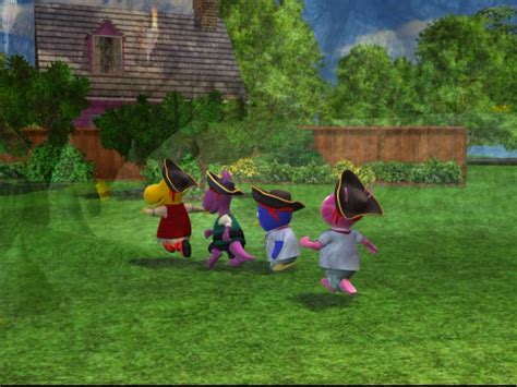 Backyardigans Backyard Image Pirate C Back Jpg The Backyardigans Wiki
