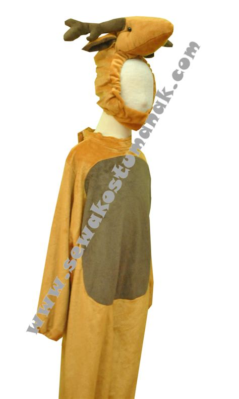 Tenda Anak Gajah kostum binatang rusa kostum animal rusa sewa kostum natal
