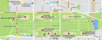 museums in washington dc map image gallery national mall museums