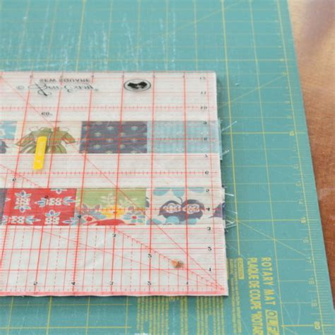 Squaring A Quilt Block by Squaring Up Block