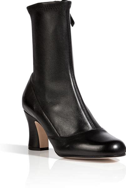 how to stretch leather shoes marc stretch leather ankle boots in black in black