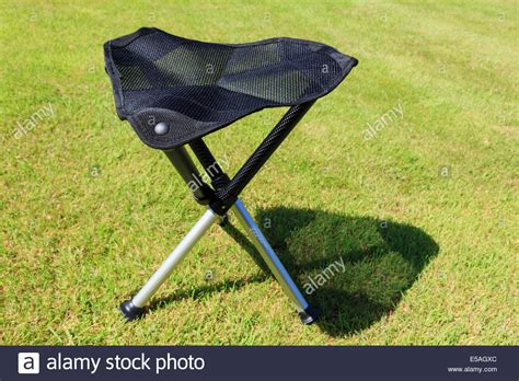 3 legged folding stool with back folding portable three legged tripod cing stool with a